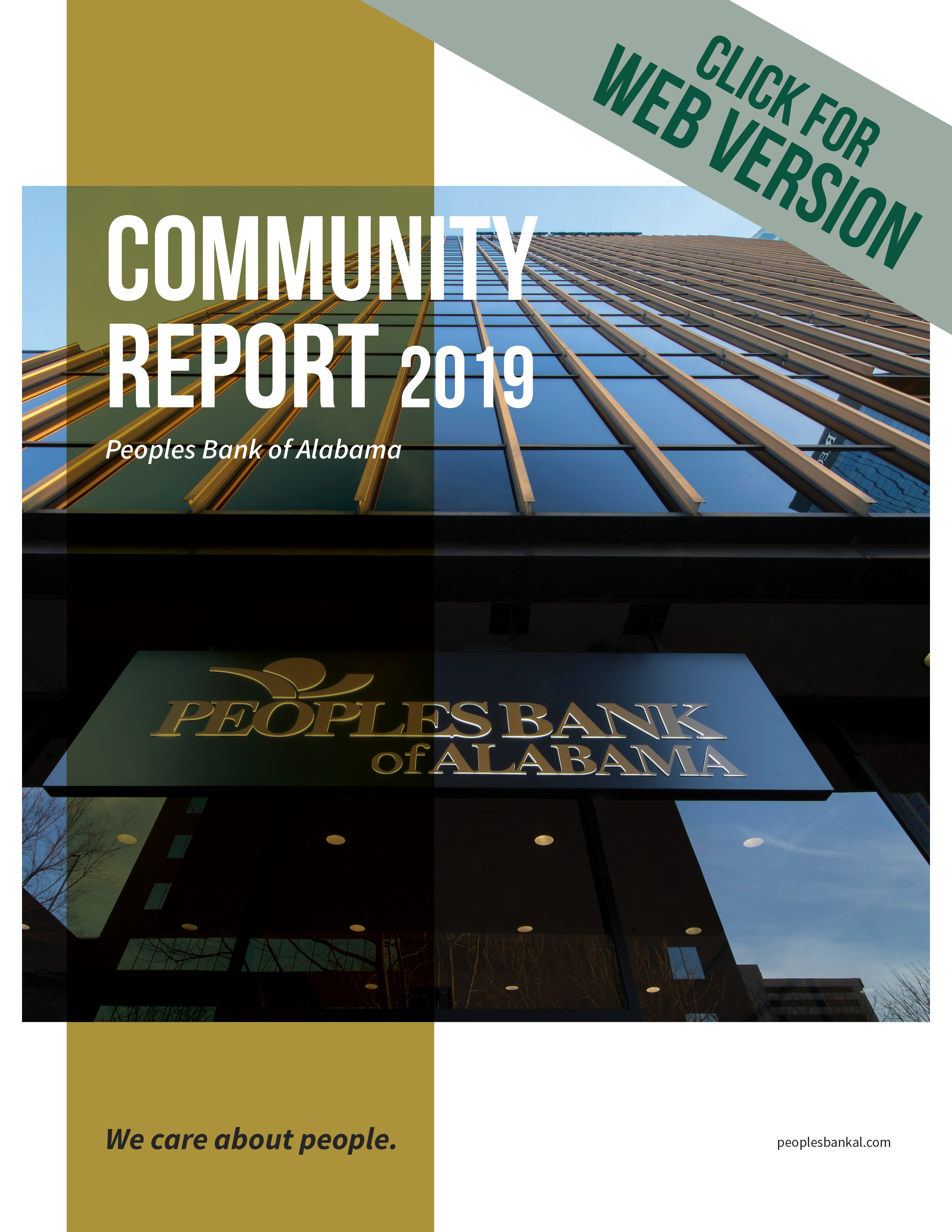 cover of 2019 community report
