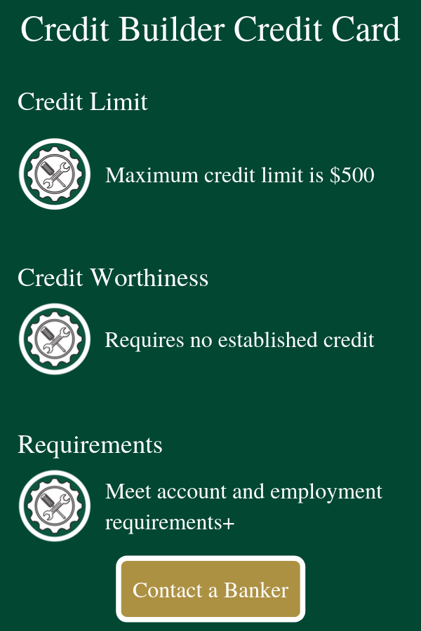 Credit Builder Card Information - Apply Now
