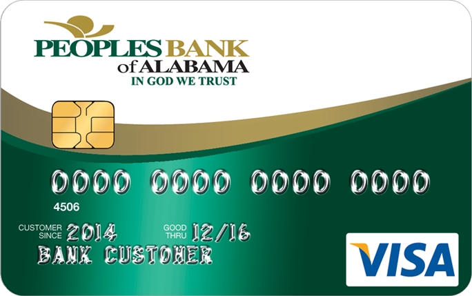 Peoples Bank Visa Credit Card